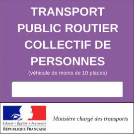Licence De Transport Demande