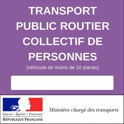 licence de transport
